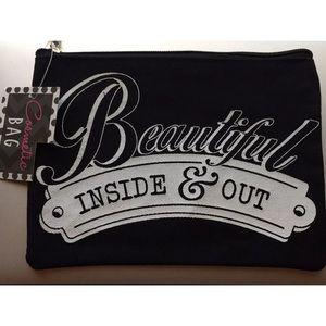 Beautiful Inside & Out Makeup Bag